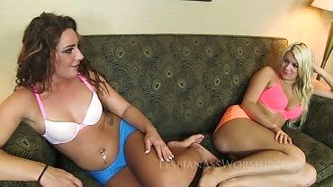 Savannah Fox and Layla Price 7